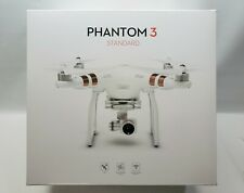 DJI Phantom 3 Standard Quadcopter Camera Drone - White - 2 Batteries With Box!