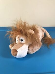 """Chuckle Buddies Lion 14"""" Plush Motion Activated Rolling Laughing Electronic"""