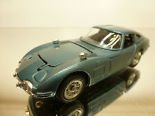 MEBETOYS TOYOTA 2000GT - RHD - BLUE METALLIC 1:43 - VERY GOOD CONDITION