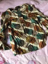 Vintage Silk Orla Kiely Blouse Top Size 4 Unworn