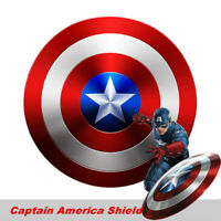 Marvel Captain America Metal Shield Avengers Wall Hanging Painting Decor Gifts