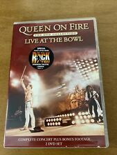 Queen On Fire The Dvd Collection Live At The Bowl - Vgc