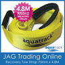 AQUATRACK 4.8M RECOVERY TOW STRAP 9000kg 4x4 4WD Snatch Tree Trunk Protector 9T