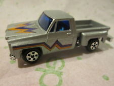 Authentic Scale Models 1:64 Super Wheels Silver Chevy Stepside Pickup Truck HK