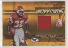 2005 Donruss Elite Back to the Future Jerseys /100 Marcus Allen Priest Holmes