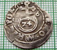 POLAND LITHUANIA SIGISMUND III 1616 1-1/2 GROSZ - POLTORAK BYDGOSZCZ MINT SILVER