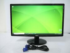 ACER S211HL 21.5-Inch LCD Monitor VGA | DVI PORTS NICE UNIT W/ STAND & VGA CABLE