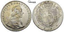 PRAGER: RDR, Salzburg, Hieronymus v. Coloredo, Taler 1783 M [1129]