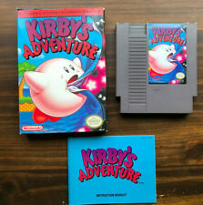 Kirby's Adventure for Nintendo NES With Box and Manual