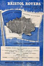 Oct 60 BRISTOL ROVERS v SWANSEA TOWN