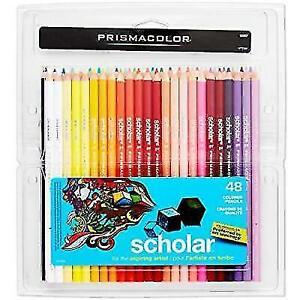 Prismacolor 92807 Scholar Colored Pencils - 48 Pieces