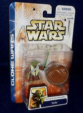 Star Wars: Clone Wars YODA General Republic Army Action Figure Hasbro 2003