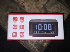 DreamSky Great Alarm Clock Radio with Fm Radio, Usb Port for Charging, 1.2 I.