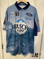 Kevin Harvick 2020 BUSCH LIGHT Pit Crew Shirt XLT Nascar Team Issued Bristol WIN
