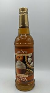 Jordan's Skinny Syrups Sugar Free Pumpkin Praline Pie 25.4 Oz Best by  8/30/21