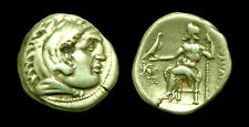 Silver Drachm - Alexander the great - Teos mint