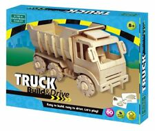 Build and drive Camion-Wooden R/C camion-Green Board Game Co.