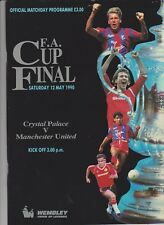 1990 F.A.Cup Final.Crystal Palace v Man.United