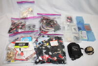 Large Mixed Lot Remote R/C Control Airplane Parts Electronics, Decals, 100s+