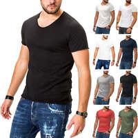 Jack & Jones Herren T-Shirt Basic Shirt Kurzarmshirt Casual Streetwear %