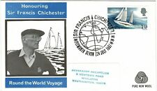 GREAT BRITAIN 1967 SIR FRANCIS CHICHESTER WORLD VOYAGE GYPSY MOTH WESSEX FDC