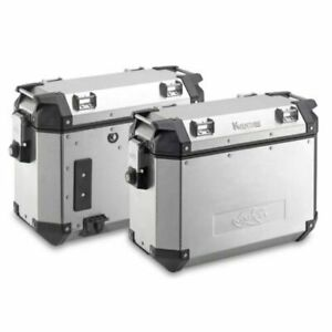 Kappa Aluminium Side Cases - 2 x 37 Litre Adventre Panniers