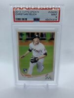 CHRISTIAN YELICH 2013 Topps Update Rookie #US290 PSA 9 MINT