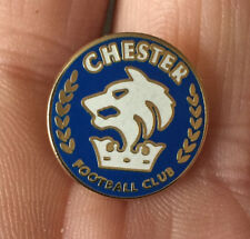 CHESTER FC SMALL BLUE CREST ENAMEL PIN BADGE