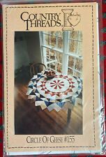"""Quilt Pattern: """"Circle of Geese"""" #155 by Country Threads"""