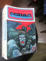 CONAN de R  E Howard L  Carter L Sprague Couverture Druillet  Ed Speciale 1972