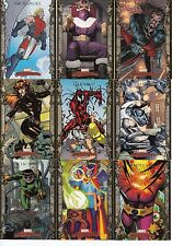 2007 Marvel Masterpieces GOLD BORDER Parallel #1 thru 90 Set NM - Combo Shipping