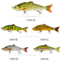 "4.7"" Minnow Fishing Lures Crank Bait Hooks Bass Crankbaits Tackle Sinking Popper"