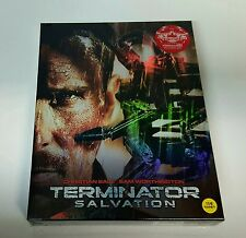 TERMINATOR SALVATION Blu-ray STEELBOOK [#81/800] [KIMCHIDVD] FULLSLIP A1 [KOREA]