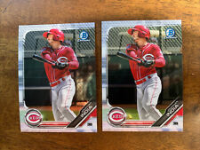 New listing (2) 2019 Bowman Chrome Prospects Jonathan India Cincinnati Reds