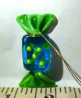 Candy Glass Hanging Mini Ornament Vintage Multi Colored Decoration
