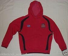 Wigan Warriors / 2006-2007 - JJB - MENS rugby hooded Top / Sweatshirt. Size: S