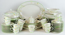 Noritake Reverie Service For 14 Serving Platter Bowl Gravy Covered Casserole 84p