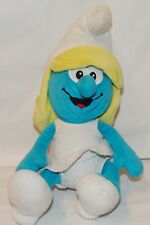 "Smurf Plush Stuffed Animal Smurfette Toy 11"" Peyo Play Along"