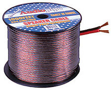 NEW Audiopipe 10 Gauge Speaker Cable 100ft Black and Red wire** CABLE10100BK