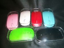 Slim USB Wireless 2.4GHz Optical Mouse Mice For Laptop PC Tablet Android Apple