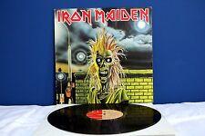 Iron Maiden IRON MAIDEN LP *EX/EX* Vinile 1980 (Same, Primo Album, Self) RaRo