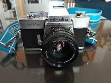 Minolta SRT 101b 35mm Film + ROKKOR 50mm 1.7 (fonctionnel)