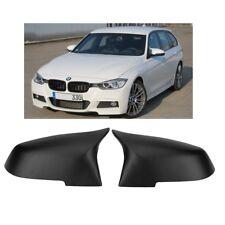 2 COQUE RETROVISEUR NOIR MAT LOOK M4 BMW SERIE 1 2 3 F20 F22 F23 F30 F32 F36