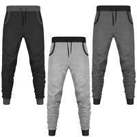 Men/'s Ultra Soft Brushed Fleece Exterior Jogging Bottom Combat Cargo Pants M-2XL
