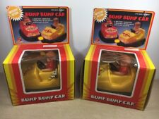 VINTAGE BUMP BUMP CARS Mystery ACTION MADE IN HONG KONG, BOY lot of 2 dime store