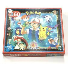 Pokemon Ash and Pikachu 60 Piece Jigsaw MB Puzzle Guaranteed Complete 1999