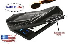 Roland Gaia Sh-01 Keyboard Dust Cover Water Repellent + Embroidery ! Made In Usa