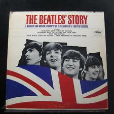 The Beatles - The Beatles' Story 2 LP VG TBO-2222 Capitol Mono Vinyl Record