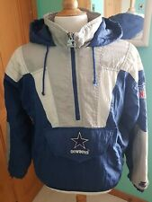 Vintage NFL Starter Dallas Cowboys Overhead Hooded Jacket Small