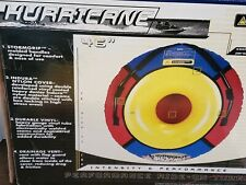 Hurricane Deluxe Ride on Tube raft with Nylon Cover 40195 new open box 46""